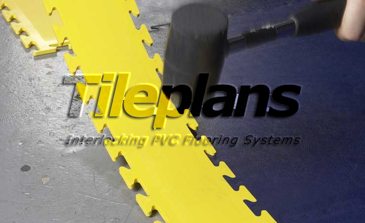 TilePlans Interlocking PVC Line Marking System