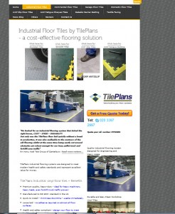 new TilePlans website